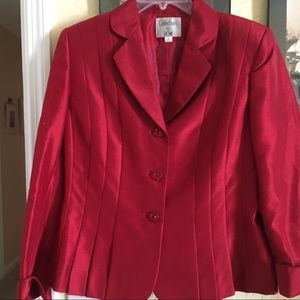 Collections for the suit red blazer size 12